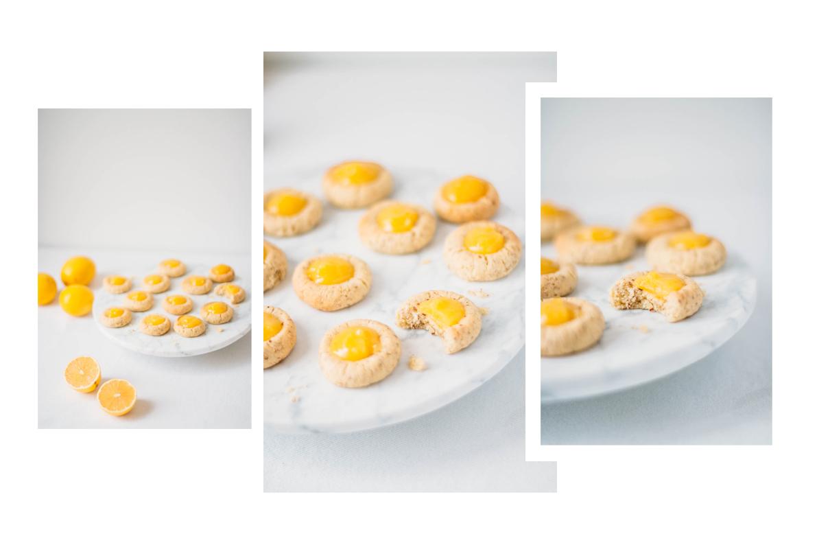 Lemon Curd Kekse